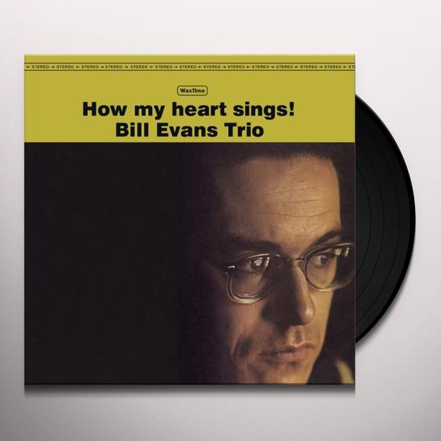 Bill Evans HOW MY HEART SINGS Vinyl Record