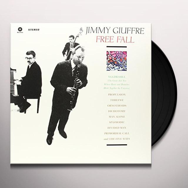 Jimmy Giuffre FREE FALL (BONUS TRACK) Vinyl Record - 180 Gram Pressing