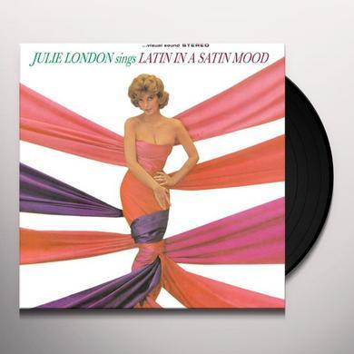 Julie London SINGS LATIN IN A SATIN MOOD Vinyl Record - 180 Gram Pressing