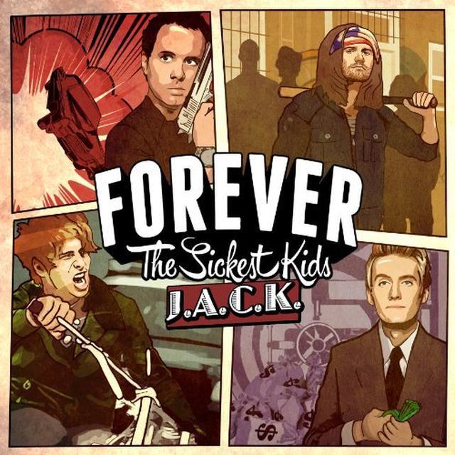 Forever The Sickest Kids JACK Vinyl Record