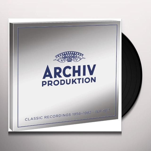 ARCHIV PRODUKTION: CLASSICAL RECORDINGS 1956-1982 Vinyl Record