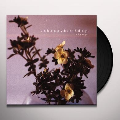 Unhappybirthday SIRUP Vinyl Record