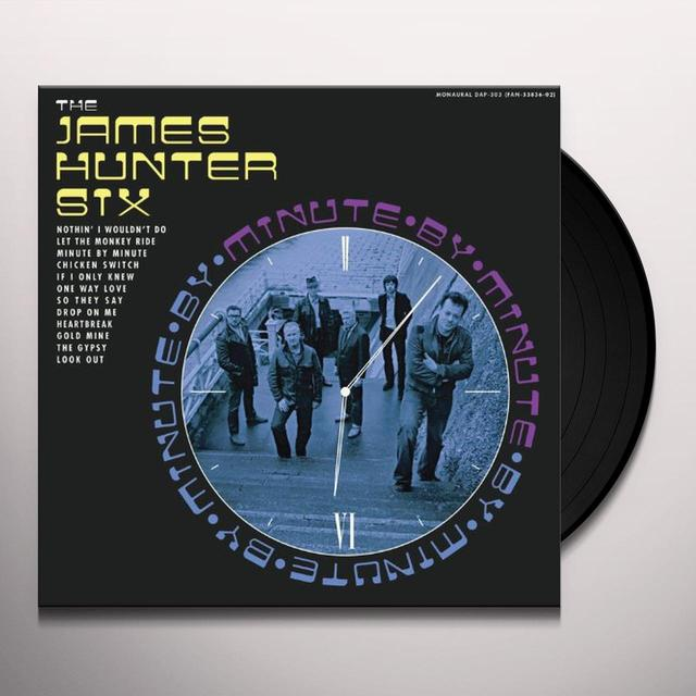 James Six Hunter MINUTE BY MINUTE Vinyl Record