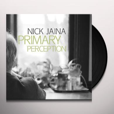 Nick Jaina PRIMARY PERCEPTION Vinyl Record
