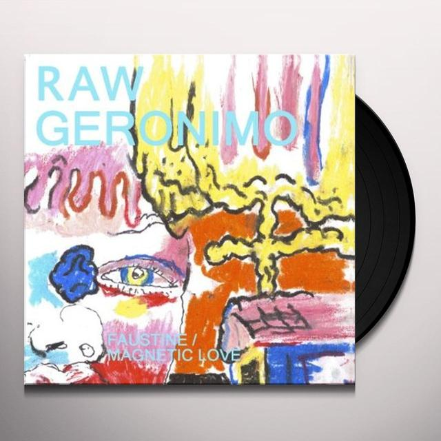 Raw Geronima FAUSTINE / MAGNETIC LOVE Vinyl Record