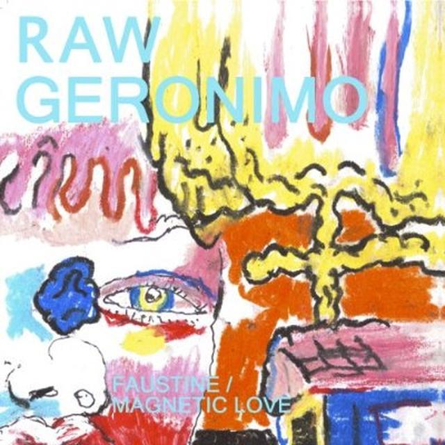 Raw Geronima FAUSTINE / MAGNETIC LOVE Vinyl Record