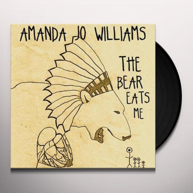 Amanda Jo Williams BEAR EATS ME Vinyl Record