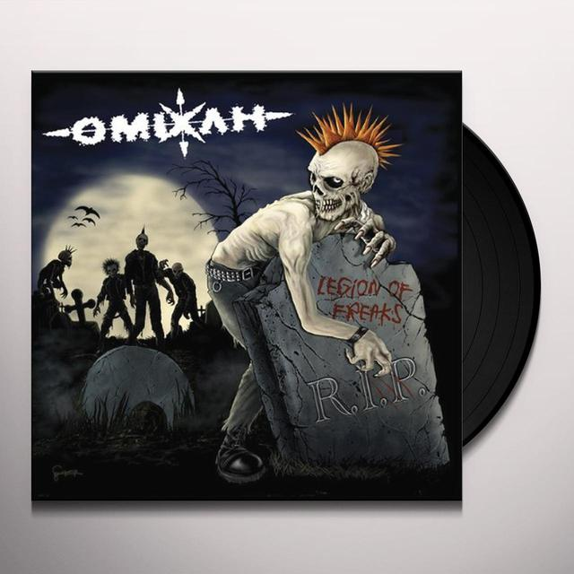 Omixlh LEGION OF FREAKS Vinyl Record