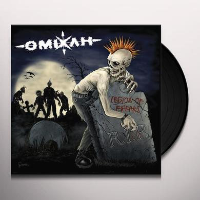 Omixlh LEGION OF FREAKS Vinyl Record
