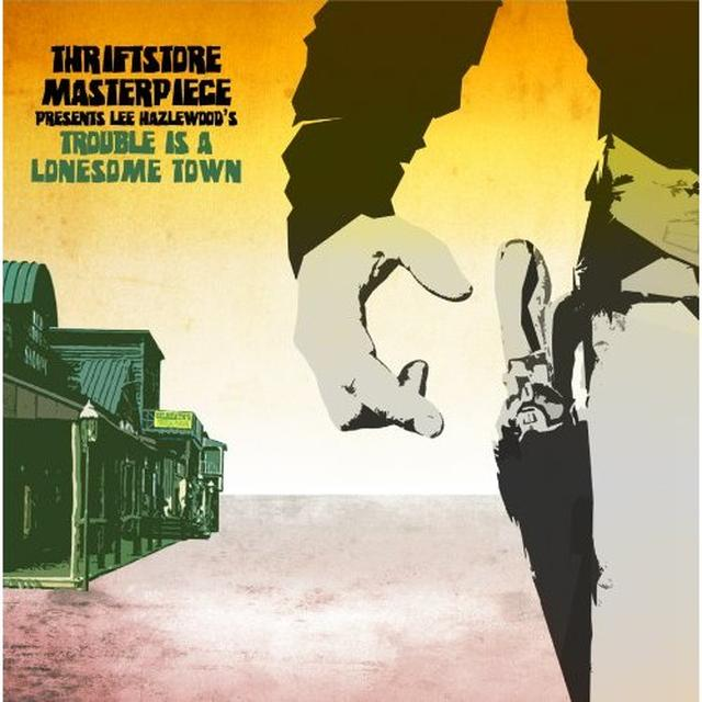Thriftstore Masterpiece TROUBLE IS A LONESOME TOWN Vinyl Record - Colored Vinyl, Digital Download Included