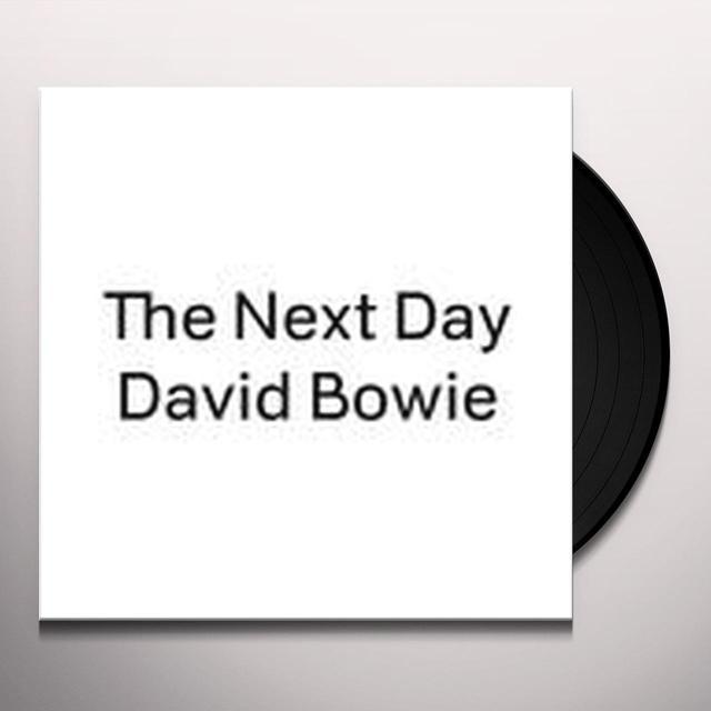 David Bowie NEXT DAY Vinyl Record