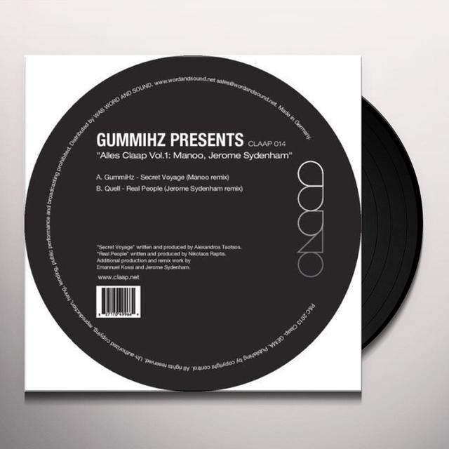 Jerome / Manoo Sydenham ALLES CLAAP 1: EP3 Vinyl Record