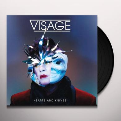 Visage HEARTS & KNIVES Vinyl Record