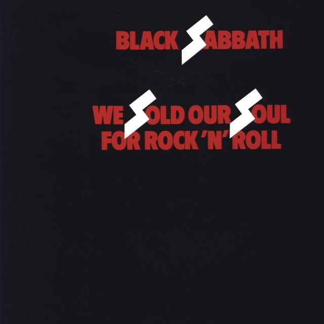 Black Sabbath WE SOLD OUR SOUL FOR ROCK N ROLL Vinyl Record