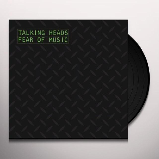 Talking Heads FEAR OF MUSIC Vinyl Record - 180 Gram Pressing