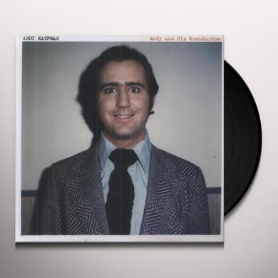 Andy Kaufman ANDY & HIS GRANDMOTHER Vinyl Record