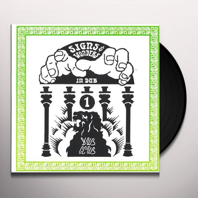 Dub Club SIGNS & WONDERS IN DUB Vinyl Record