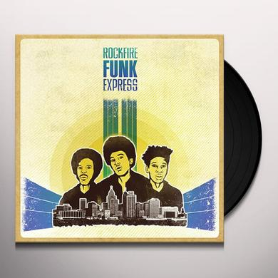 PEOPLE SAVE THE WORLD / ROCKFIRE FUNK EXPRESS Vinyl Record