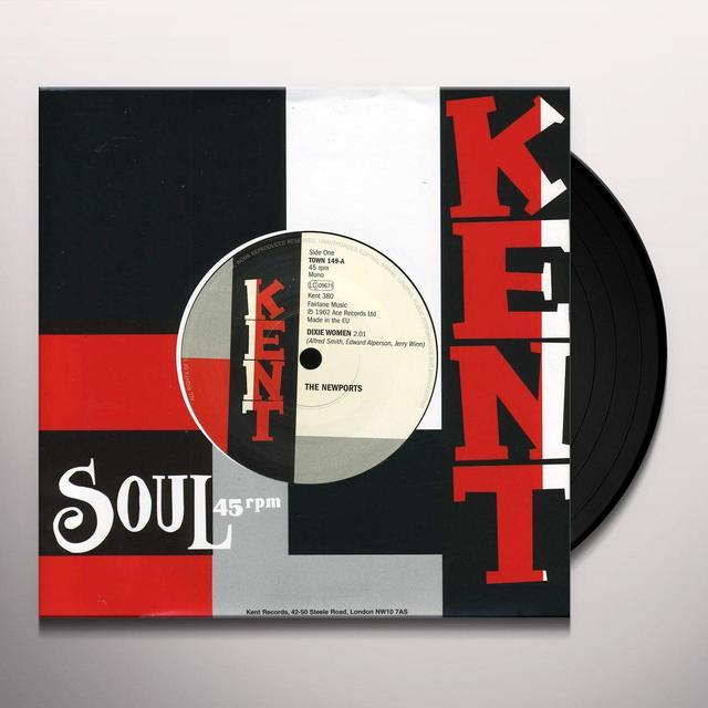 Newports / Sinner Strong DIXIE WOMEN / DON'T KNOCK IT Vinyl Record