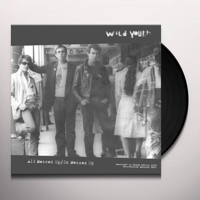 Wild Youth ALL MESSED UP Vinyl Record - UK Import