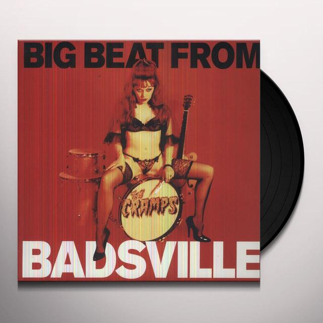 The Cramps BIG BEAT FROM BADSVILLE Vinyl Record - UK Import