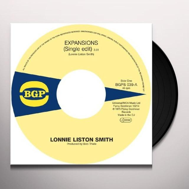 Lonnie Liston Smith EXPANSIONS / A CHANCE FOR PEACE Vinyl Record - UK Import