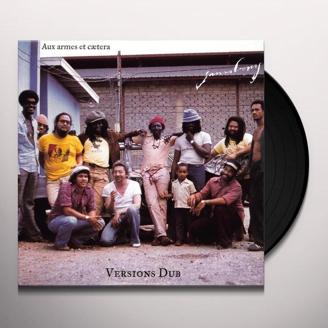 Serge Gainsbourg AUX ARMES ET CAETERA (DUB VERSION) (FRA) Vinyl Record