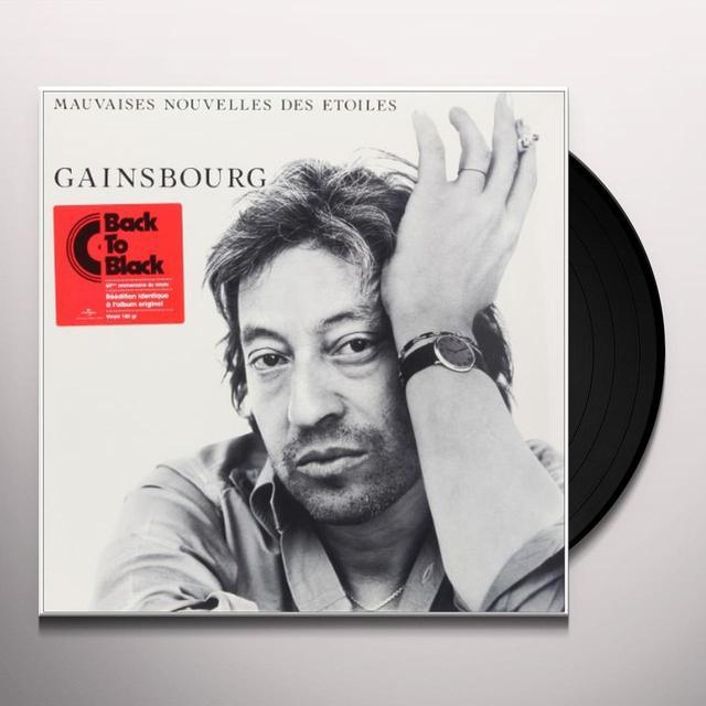 Serge Gainsbourg MAUVAISES NELLES DES ETOILES Vinyl Record