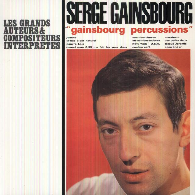 Serge Gainsbourg PERCUSSIONS Vinyl Record