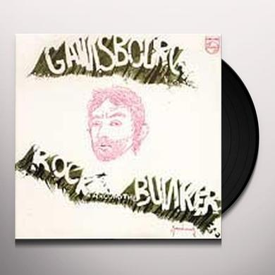 Serge Gainsbourg ROCK AROUND THE BUNKER Vinyl Record