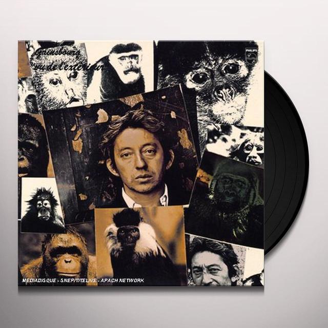 Serge Gainsbourg VU DE L'EXTERIEUR Vinyl Record - 180 Gram Pressing