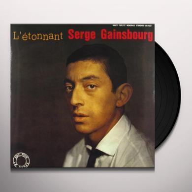 Serge Gainsbourg L'ETONNANT SERGE Vinyl Record
