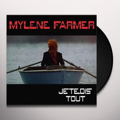 Mylène Farmer JE TE DIS TOUT Vinyl Record
