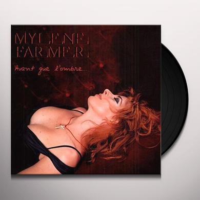 Mylène Farmer AVANT QUE L'OMBRE Vinyl Record