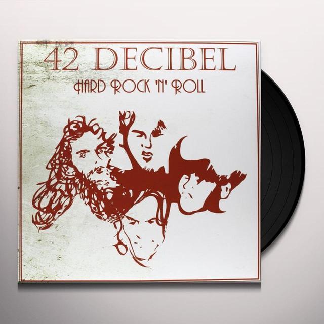 42 Decibel HARD ROCK N ROLL (BONUS TRACKS) Vinyl Record
