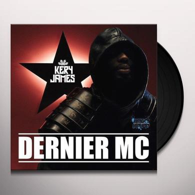 James Kery DERNIER MC Vinyl Record