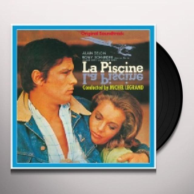 Michel Legrand LA PISCINE Vinyl Record