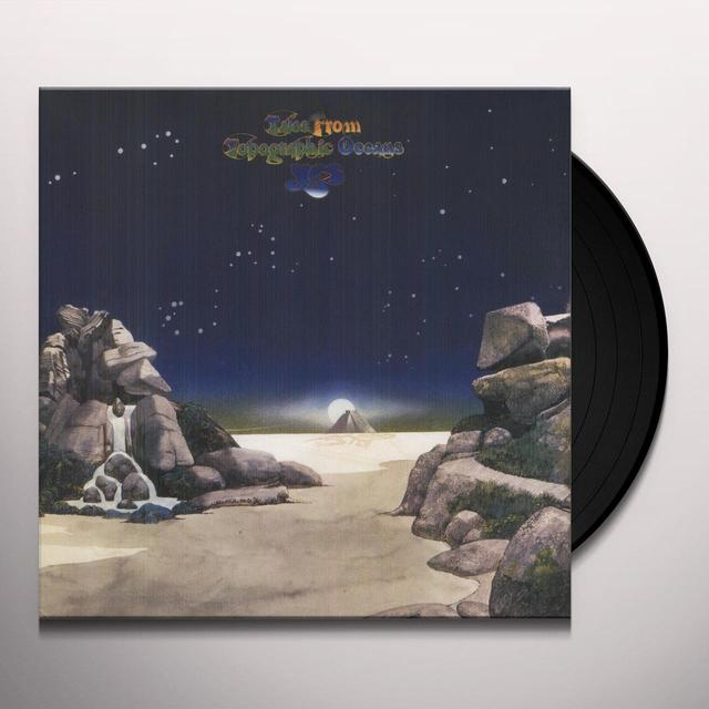 Yes TALES FROM TOPOGRAPHIC OCEANS Vinyl Record - 180 Gram Pressing
