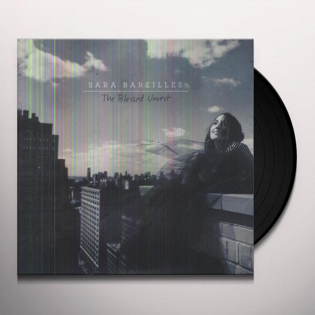 Sara Bareilles BLESSED UNREST Vinyl Record - 180 Gram Pressing, Digital Download Included