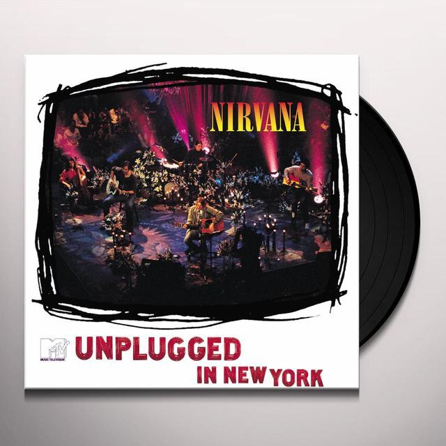 Nirvana UNPLUGGED IN NY Vinyl Record