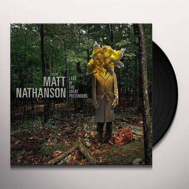 Matt Nathanson LAST OF THE GREAT PRETENDERS Vinyl Record