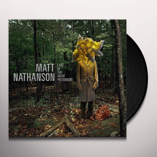 Matt Nathanson LAST OF THE GREAT PRETENDERS Vinyl Record