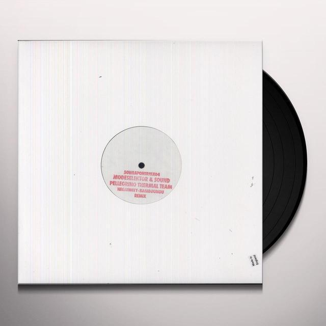 Modeselektor / Sound Pellegrino Thermal Team NEGATIVITY (EP) Vinyl Record