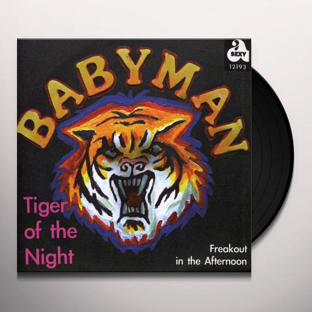 Babyman TIGER OF THE NIGHT Vinyl Record