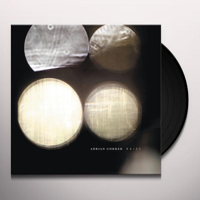 Adrian Corker RAISE Vinyl Record - Black Vinyl, 180 Gram Pressing, Digital Download Included
