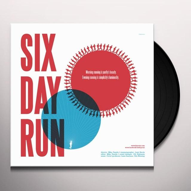 Circle SIX DAY RUN Vinyl Record