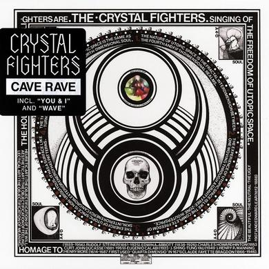Crystal Fighters CAVE RAVE Vinyl Record
