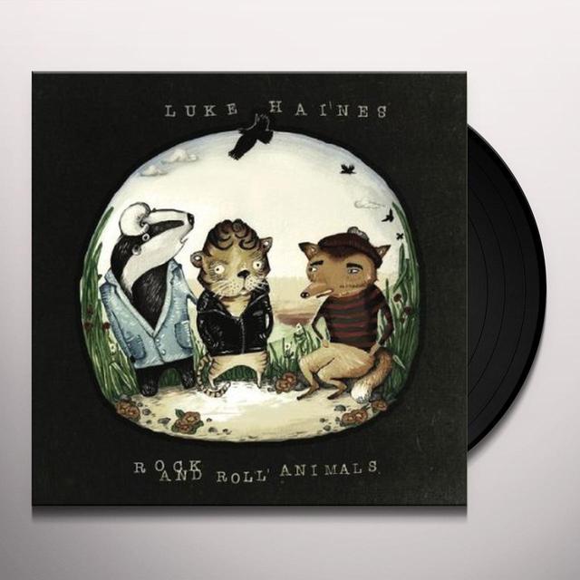 Luke Haines ROCK & ROLL ANIMALS (UK) (Vinyl)