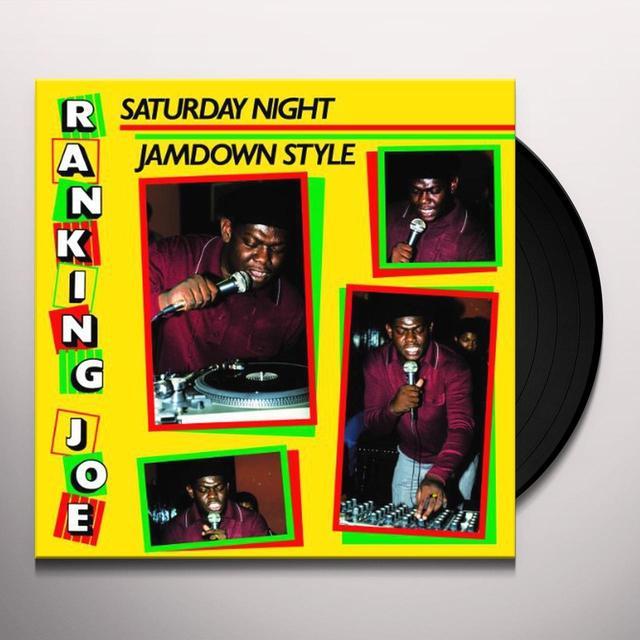 Ranking Joe SATURDAY NIGHT JAMDOWN STYLE Vinyl Record