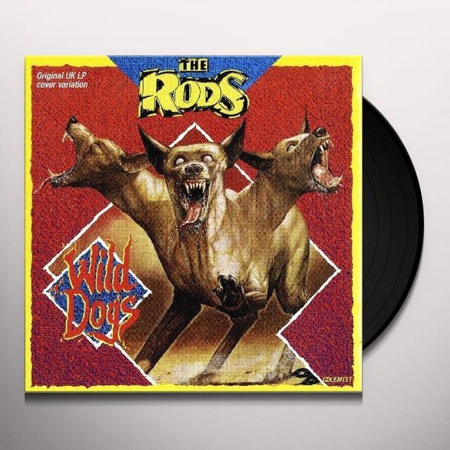 Rods WILD DOGS Vinyl Record